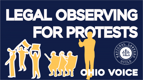 Legal Observing for Protests