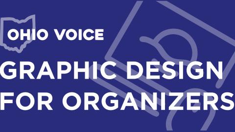 Graphic Design for Organizers